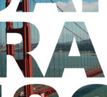 San Francisco 2 Sticker