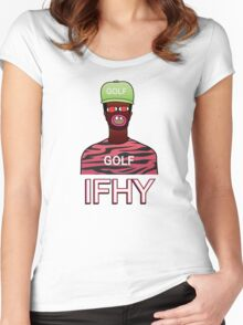 IFHY / Tyler the Creator Women's Fitted Scoop T-Shirt