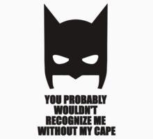 Recognize Me - Batman One Piece - Long Sleeve