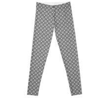 Seamless Textile Pattern Leggings