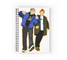 Lazy Scranton - No Text Spiral Notebook