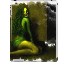 Green depression iPad Case/Skin