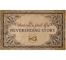 A Part of a Neverending Story Photographic Print
