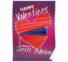 Valentines Day - Secret Admirer Poster