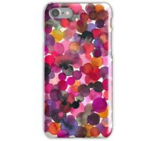 Watercolor dots iPhone Case/Skin