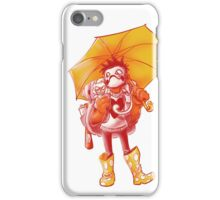 Raining Plastic (Color) iPhone Case/Skin