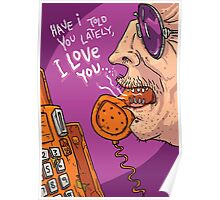 Valentines Day Card - Phone call Poster