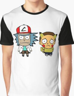 Rick and Mortychu Graphic T-Shirt