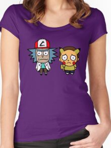 Rick and Mortychu Women's Fitted Scoop T-Shirt