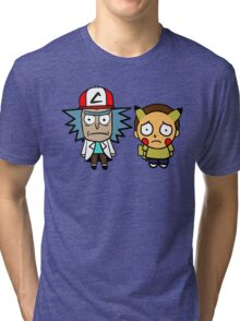 Rick and Mortychu Tri-blend T-Shirt