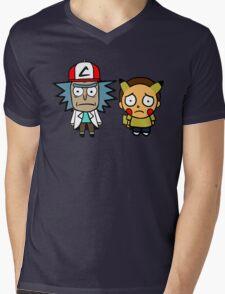 Rick and Mortychu Mens V-Neck T-Shirt