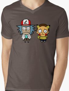 Rick and Mortychu Mens V-Neck T-Shirt