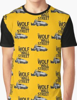 THE WOLF OF WALL STREET-LAMBORGHINI COUNTACH Graphic T-Shirt