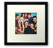 cast Framed Print
