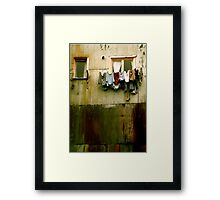 Out to Dry (Crop) Framed Print