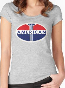 American Oil Company Women's Fitted Scoop T-Shirt