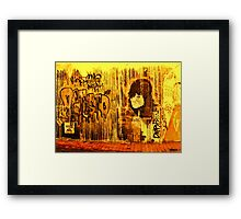 Not in the Mood  Framed Print