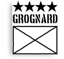 4 Star Grognard Canvas Print