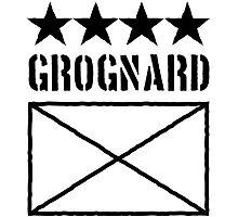 4 Star Grognard Photographic Print