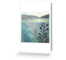 Lagoon Greeting Card