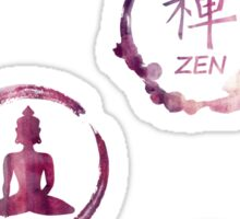 Buddhist Meditation Sticker Pack Sticker