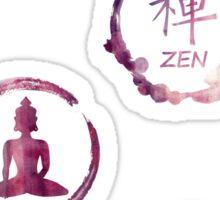 Buddhist Meditation Sticker Pack Sticker