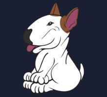 Mini Bull Terrier Lola  One Piece - Short Sleeve