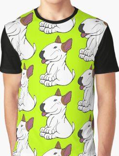 Mini Bull Terrier Lola  Graphic T-Shirt