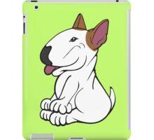 Mini Bull Terrier Lola  iPad Case/Skin