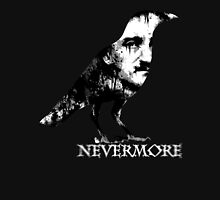 Nevermore (White Text) Unisex T-Shirt
