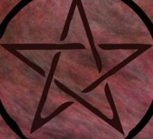 Pentacle 0141 by Chandra Nyleen Sticker