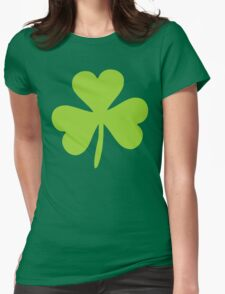 Irish Shamrock Saint Patrick's Day Womens Fitted T-Shirt
