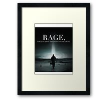 Interstellar - Rage Against the Dying of the Light Framed Print