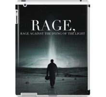 Interstellar - Rage Against the Dying of the Light iPad Case/Skin