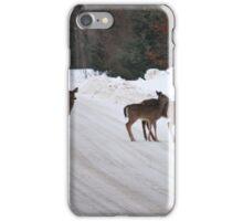 Deer Crossing iPhone Case/Skin
