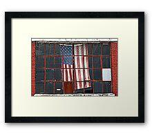 Thompson's Ole Glory-Standard Framed Print