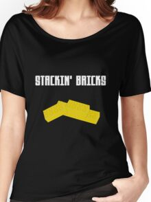 Stackin' Bricks Women's Relaxed Fit T-Shirt