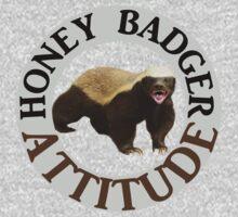 Honey Badger Attitude by rubina