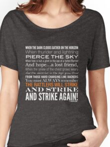Orange Strike Collection by Graphic Snob® Women's Relaxed Fit T-Shirt