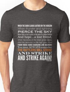 Orange Strike Collection by Graphic Snob® Unisex T-Shirt