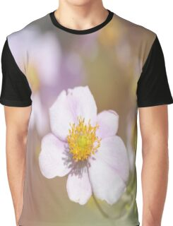 Anemones in the Garden, #flower, #floral, #nature Graphic T-Shirt