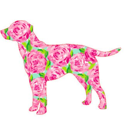 Lilly First Impressions dog Sticker