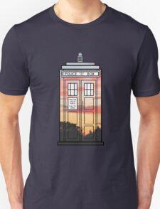 Sunset TARDIS Unisex T-Shirt