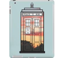 Sunset TARDIS iPad Case/Skin