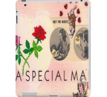 For A Special Mad Man iPad Case/Skin