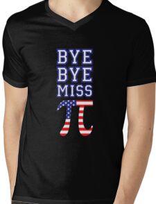 Bye Bye Miss American Pi Mens V-Neck T-Shirt
