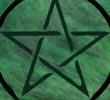 Pentacle 0150 by Chandra Nyleen Sticker