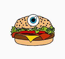 Cyclops Burger Pattern Orange  Unisex T-Shirt