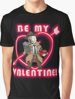 Be My Nick Valentine Graphic T-Shirt