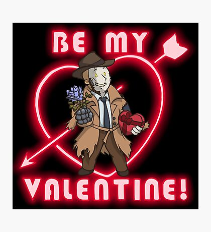 Be My Nick Valentine Photographic Print